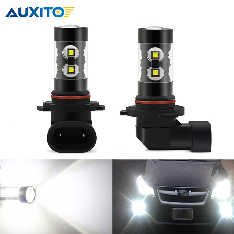 2pcs Canbus 9006 HB4 LED Fog Light Daytime Running Lamp DRL Bulbs For BMW 5 Series E60 E63 E64 E46 330ci M3 E46 330ci Car Lights
