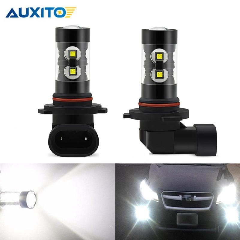 2x 9006 HB4 LED CANBUS Fog Light Bulbs 6000K White DRL Lamp For Volkswagen Eos Golf 6 MK6 Touareg Jetta Tiguan Passat GTI Rabbit