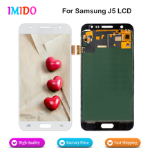 5Pcs Free DHL LCD Screen For Samsung Galaxy J5 500fn J500M LCD Display 2015 Touch Screen Digitizer Assembly Replacement Parts 100% original for samsung galaxy s3 mini i8190 lcd display with touch screen assembly white replacement parts free tracking no