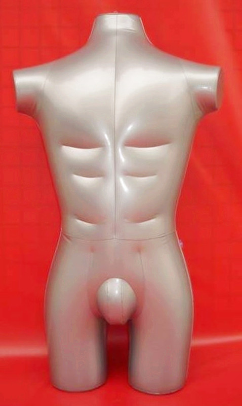 New Male 3/4 Body Inflatable Mannequin Torso Dummy Model Uniform Clothes Display new female 3 4 body inflatable mannequin torso dummy model dress fashion display