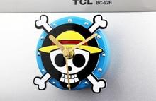 One Piece Fridge Magnet Kitchen Clock