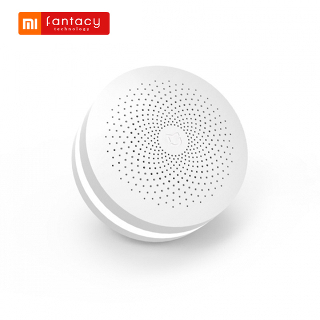 Xiaomi Mijia Smart Home Multi-function Gateway Upgraded ZigBee Temperature Door Sensor WiFi Motion Smart Remote Control by APP
