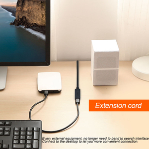 Image 2 - QGeeM USB הארכת כבל כבל USB3.0 זכר לנקבה מאריך נתונים Sync כבל מתאם 1M 3M 2M סעודת מהירות USB 3.0 כבל