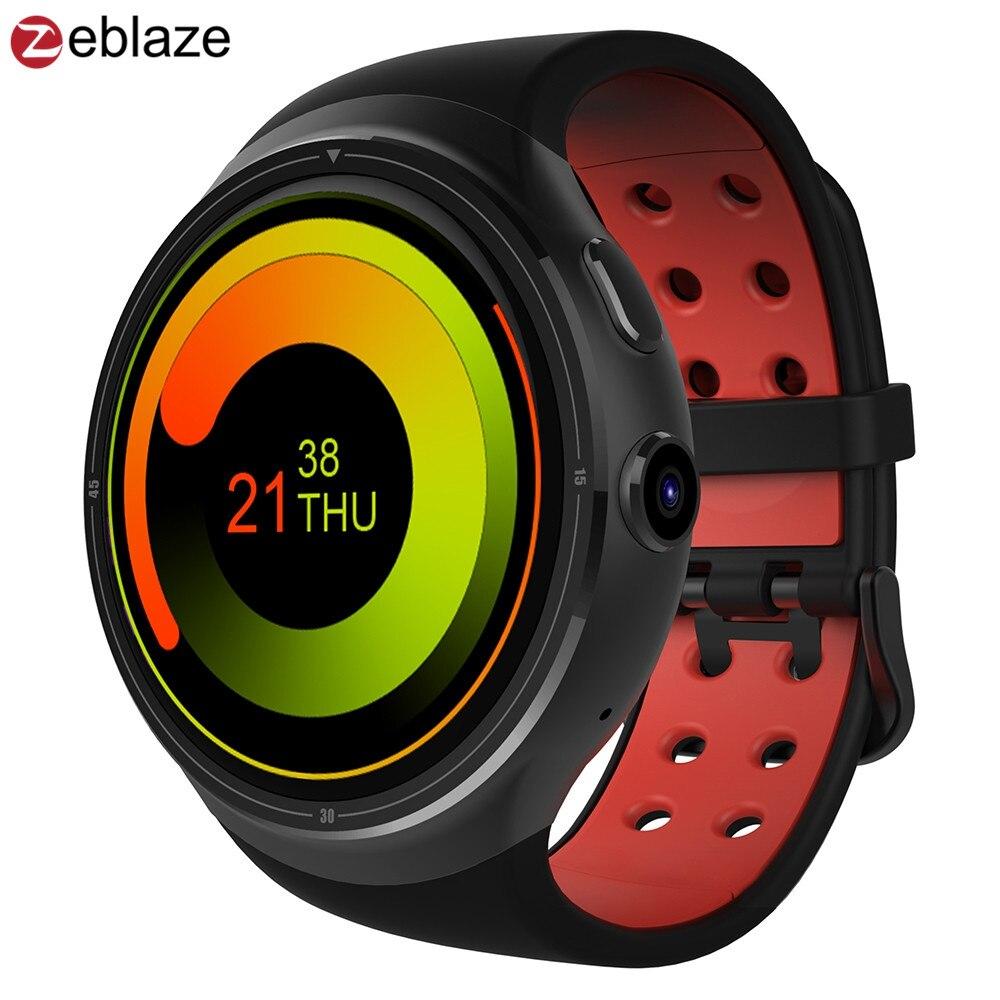 Zeblaze thor 3g gps smartwatch teléfono 1.4 pulgadas android 5.1 mtk6580 1.3 ghz
