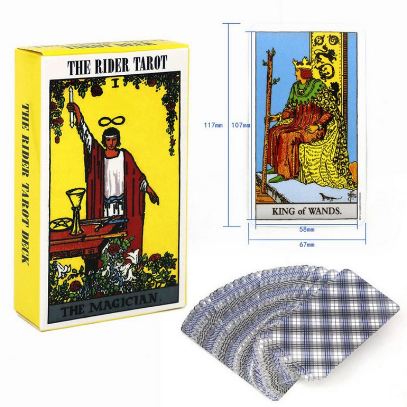 The Rider Tarot Deck Cards 103 * 60mm, A Total Of 78 Sheets For Beginners And Tarot Lovers