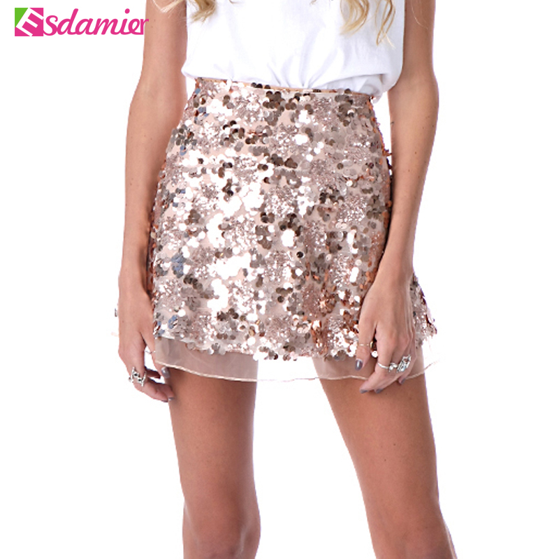 Gold Metallic Skirt Promotion-Shop for Promotional Gold Metallic ...