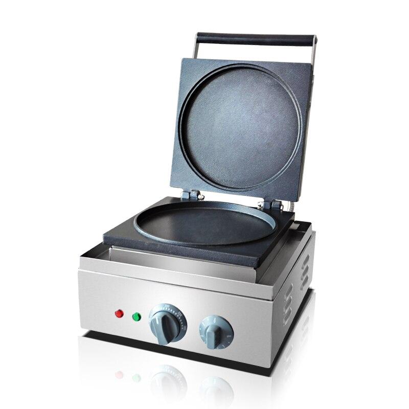 110 В 220 В коммерческих Электрический блин вафельница машина антипригарным Многофункциональный пирог Торт вафельный машина ЕС/ AU/Великобрит