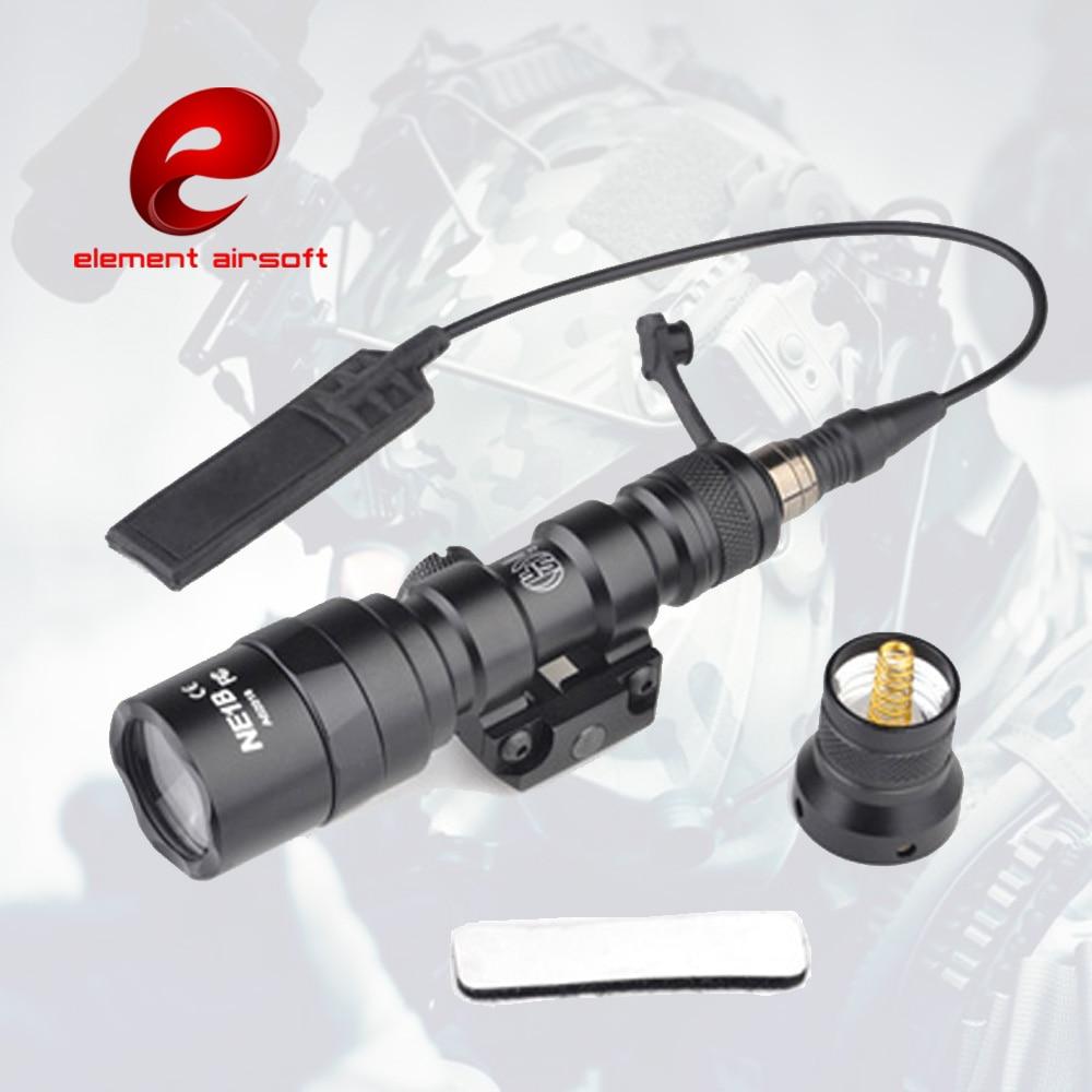 Hunting Purposeful Element Surefir M300aa Mini Tactical Flashlight Scout Penligh Led Torch Lamp Airsoft Gun Airsoft Softair Waffen Rifle Lantern Sales Of Quality Assurance
