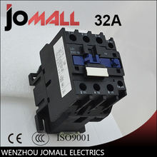 LC1-D32 32 amp black shell three phase four wires AC electrical Contactor lc1 d32 32 amp ac electrical contactor