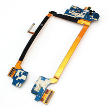 Original Mic Headphone Jack USB Charging Port Flex Cable Replacement For LG G2 D802 D805 Free shipping With Tracking Number