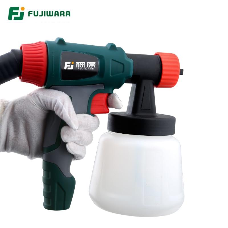 FUJIWARA 800W Pistola a spruzzo elettrica Vernice a spruzzo al - Utensili elettrici - Fotografia 3