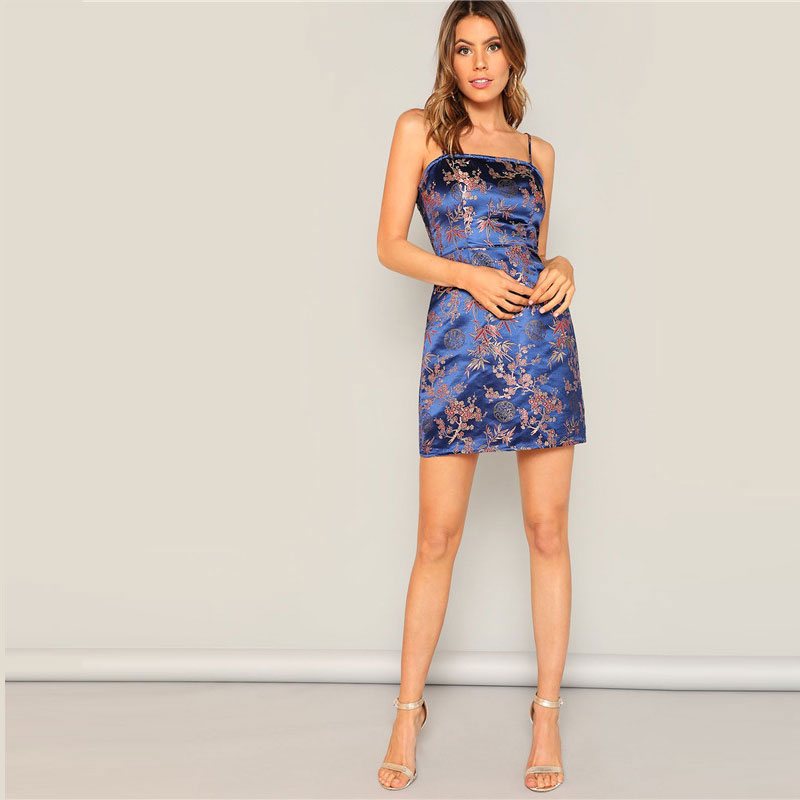 Vestido Blue Dragon azul elegante y ligero Paraíso de la Moda | PdM