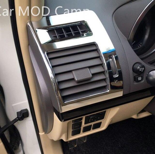 US $19 74 15% OFF Aliexpress com : Buy For Toyota Land Cruiser Prado FJ150  2010 2018 ABS Chrome Interior Side Air Vent Outlet Cover Trim 2pcs Car