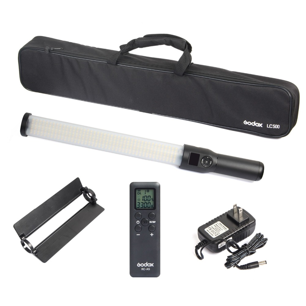 productimage-picture-godox-lc500-3300-k-5600k-adjustable-handle-led-light-stick-built-in-lithium-battery-with-remote-control-and-ac-charger-101932