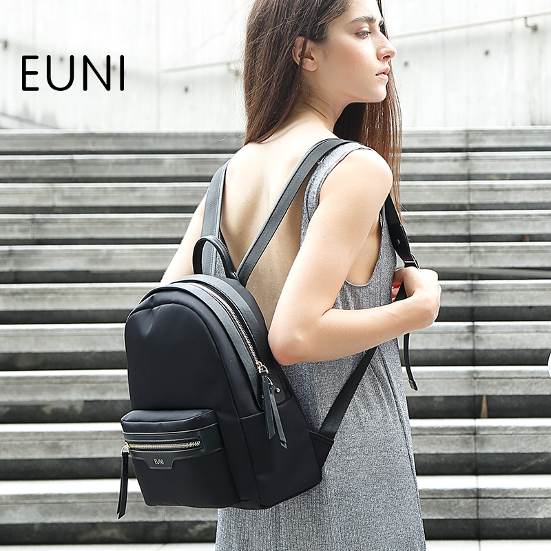 EUNI High Quality Oxford Female Backpack Fashion European and American Style Woman Backpacks For Teenage Girls School Bag N50 high tech and fashion electric product shell plastic mold