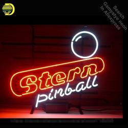 Stern Pinball Design NEON SIGN Beer Bar Pub Art Neon Bulbs Neon Light Glass Tube Signs Advertise Neon Recreation room VD 17x14