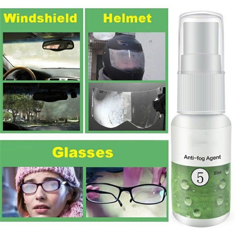 1PC 20ml Anti-fog Agent Waterproof Rainproof Anit-fog spray Car Window Glass Bathroom Cleaner Car Cleaning Car Accessories Lahore