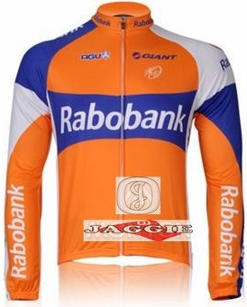 2012 RABOBANK Winter Thermal Fleece Long Sleeve Cycling Jersey Jacket Ropa  Ciclismo Invierno e5a900407