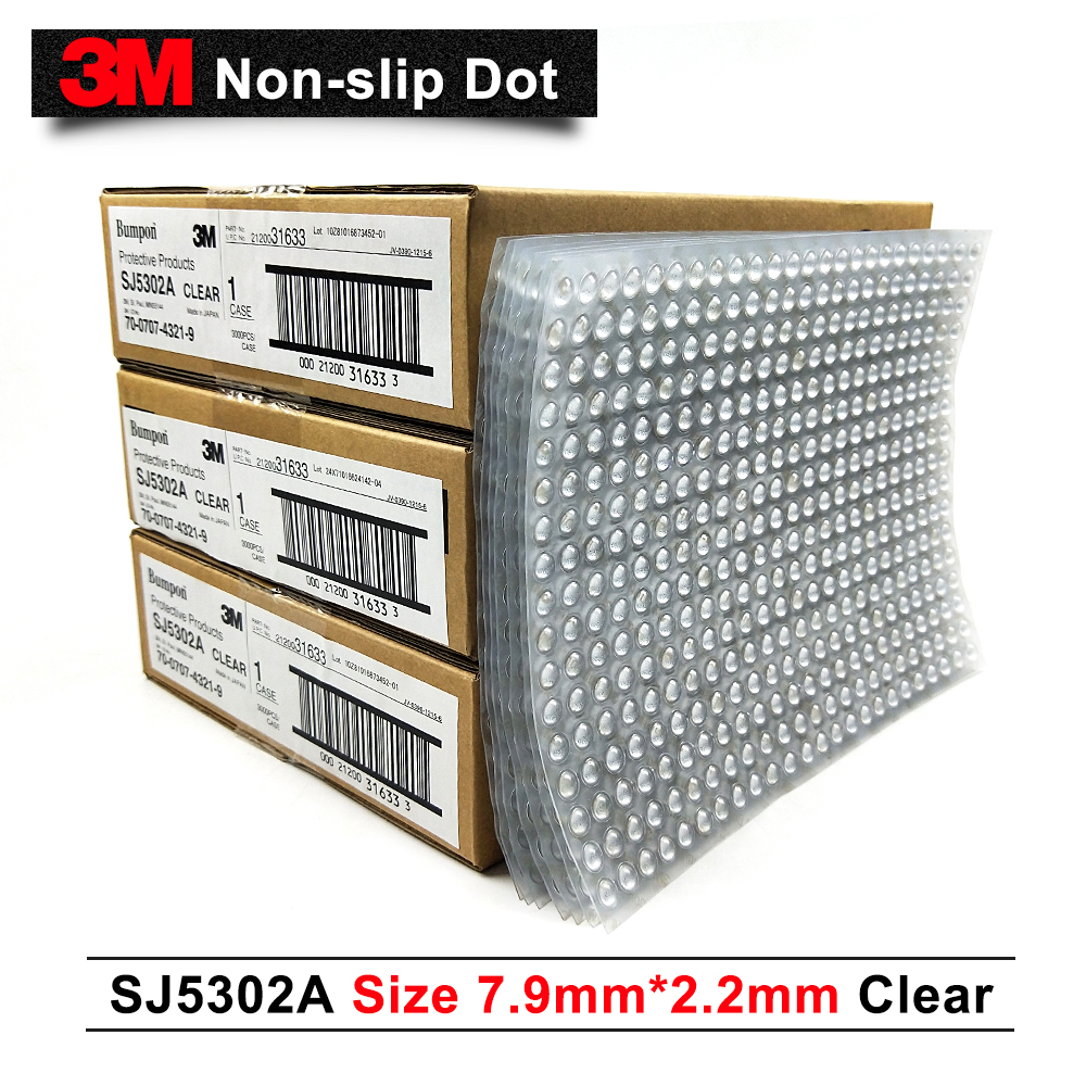Big promotion 3M bumpon SJ5302A English version Clear color Ring anti-slip pads rubber bumpon 3000 pcs per case free shippingBig promotion 3M bumpon SJ5302A English version Clear color Ring anti-slip pads rubber bumpon 3000 pcs per case free shipping