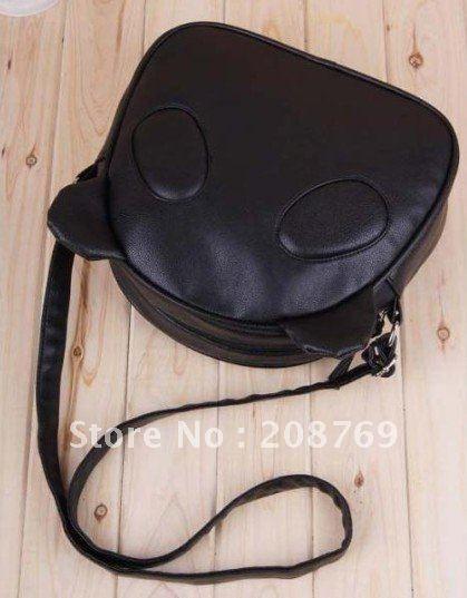 прекрасный панда кролик дизайн искусственная кожа женская сумки, популярные дамы сумка, qualitied сумка опт/розница