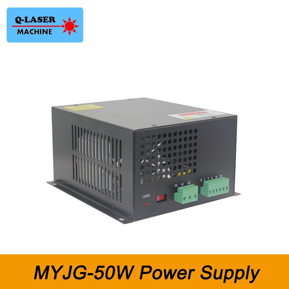 AC220V Co2 Laser Power Supply 50W for Laser Stamp Maker