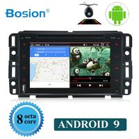 1024*600 Восьмиядерный Android 9 автомобильный dvd плеер для GMC Yukon Savana Sierra Tahoe Acadia Denali Chevrolet Chevy стерео радио GPS