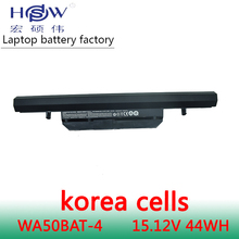 Genuine original 15.12V 44Wh WA50BAT-4 laptop battery for Clevo 6-87-WA50S-42L 6-87-WA50S 6-87-WA5RS bateria akku genuine for clevo m590kbat 12 6 87 m59kx 4k62 laptop battery for clevo m59 m59k m590 m59ke m590k m590ke free shipping