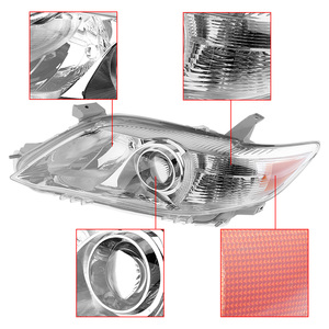 Image 5 - Waterproof Headlamp Clear Projector Left/Right 2 Pcs Headlight Replacement US Built Fit for 2010 2011 Toyota Camry USA Modes