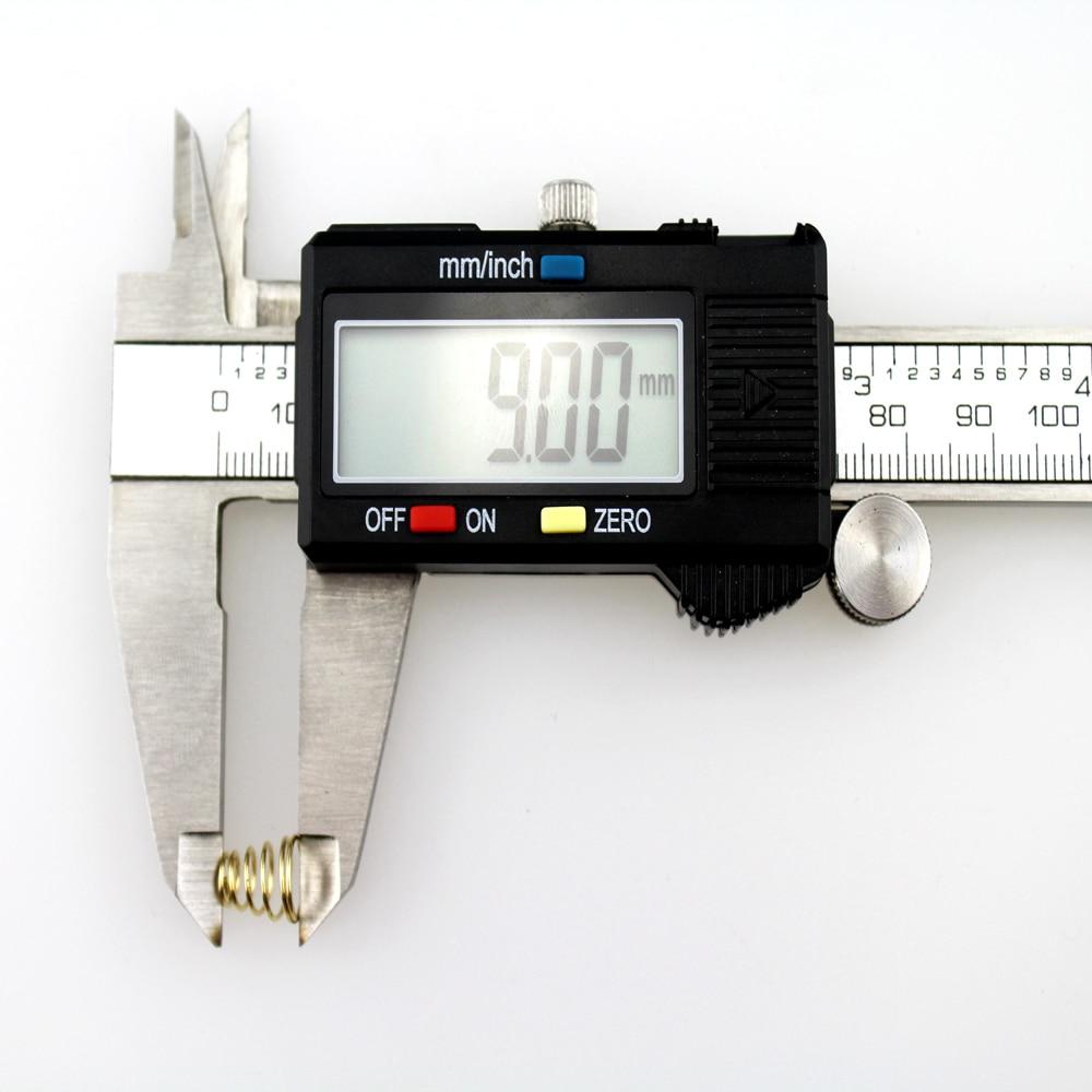 9 мм x 8 мм Aurification маленькая пружина для фонарика(100 шт./лот