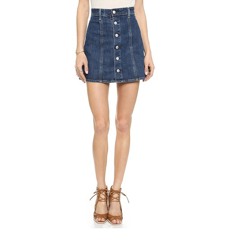 Aliexpress.com : Buy Ac for ag bust skirt denim button slim a line ...