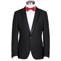 Top Level Mens wool suits sets Black Solid Suit for wedding Natural Wools Mens Suits Costume Homme Groom Suit 2 Piece