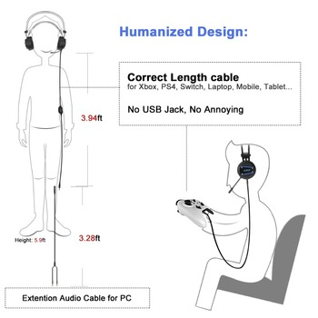 ALWUP A9 Gaming Headset Xbox One PS4 gamer Headphones for Playstation 4 with Mic PC Gamer Headphone with Microphone for computer 1