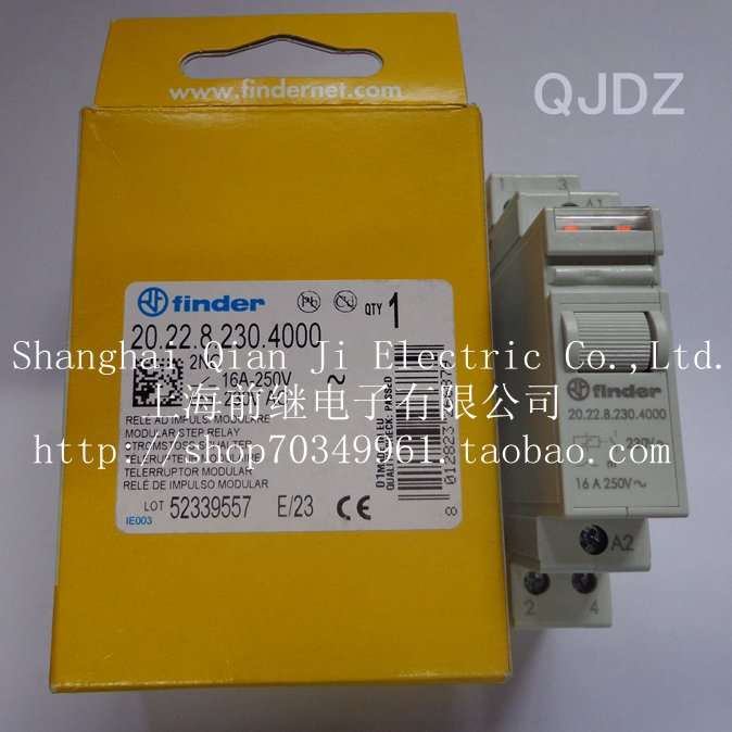 Brand new original finder Fend 20.22.8.230.4000 230VAC progressive relayBrand new original finder Fend 20.22.8.230.4000 230VAC progressive relay