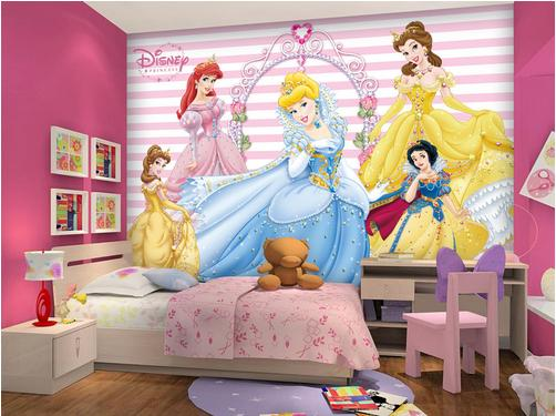 disney wallpaper for bedrooms photo wallpaper 3d stereoscopic wallpaper disney princess 15176