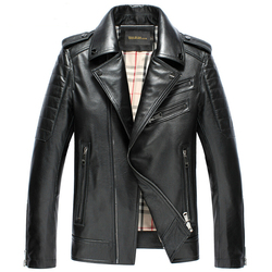 Black genuine leather jacket men 100 cowhide jacket men fashion suit collar motorcycle jacket 2015 jaqueta.jpg 250x250