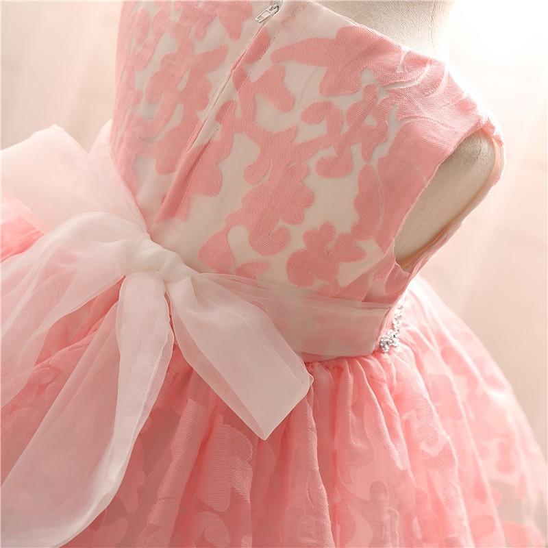 Newborn Bow Dress Baby Girl (11)