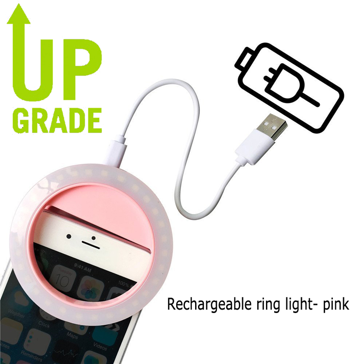 For redmi 4 pro 4a 3s 3pro LED Flash Light Up Selfie Ring For Xiaomi Mi6 Mi5c Mi5 Plus Mi Mix Max2 Note 2 Selfie LED ring light