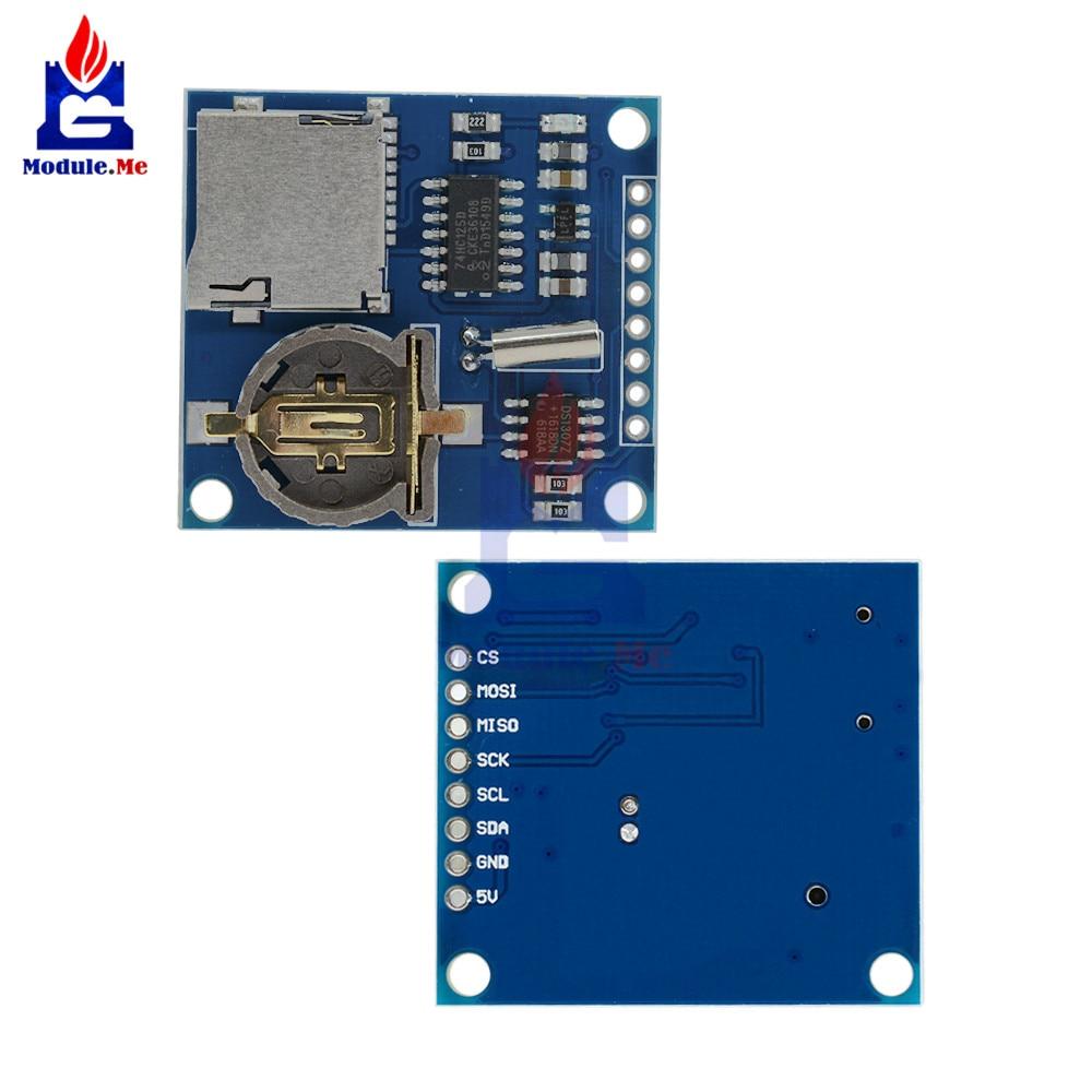 US $1 63 11% OFF|Mini Data Logger SD Card Module Logging Shield for Arduino  For Raspberry Pi Logging Recorder Data Logger Shield Board V1 0 3 3v-in