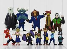 Zootopia Cartoon Movie Utopia font b Action b font font b Figure b font Movie Pvc