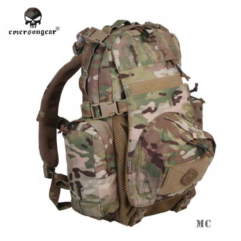 Prix pour Emersongear Yote Hydratation Assault Pack Militaire Sac À Dos Voyager Multi-But Molle Épaule Sac de EM5813 Multicam Noir