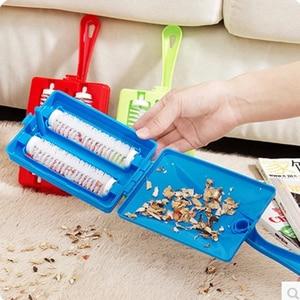 Image 5 - Brosse de nettoyage portable pour le canapé lit, pour enlever la poussière, les peluches, les poils de chiens et de chats, outils de nettoyage
