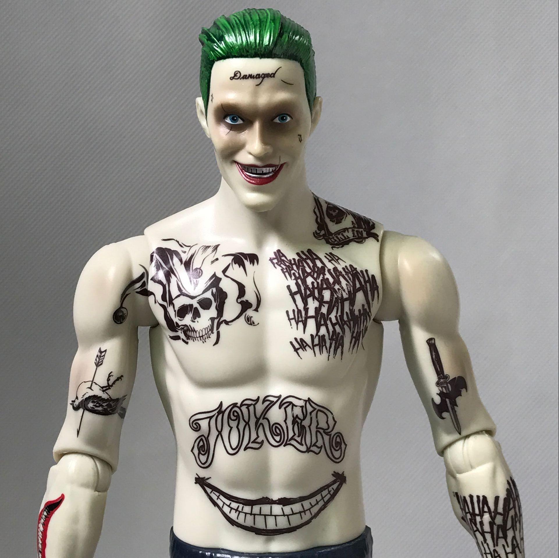 Crazy Toys 12 30cm DC Suicide Squad Joker Character BJD Joint Move Action Figure Toys