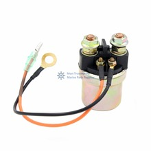 SOLENOID STARTER RELAY FOR Replacement YAMAHA PWC ALL 1987-2017 REPLACES OEM 6J0-81941-10 6J0-81941-00 6J0-81941