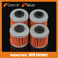 4 X Filtro de Óleo Limpo Para Husqvarna TE310 FC250 TC250R TE250 TC250 TXC250 TE250R TXC310R Motocross Enduro Supermoto