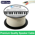 New Arrival 50M 160FT 200 cores Speaker cable wire audio line for home theater -High Quality Fast delivery