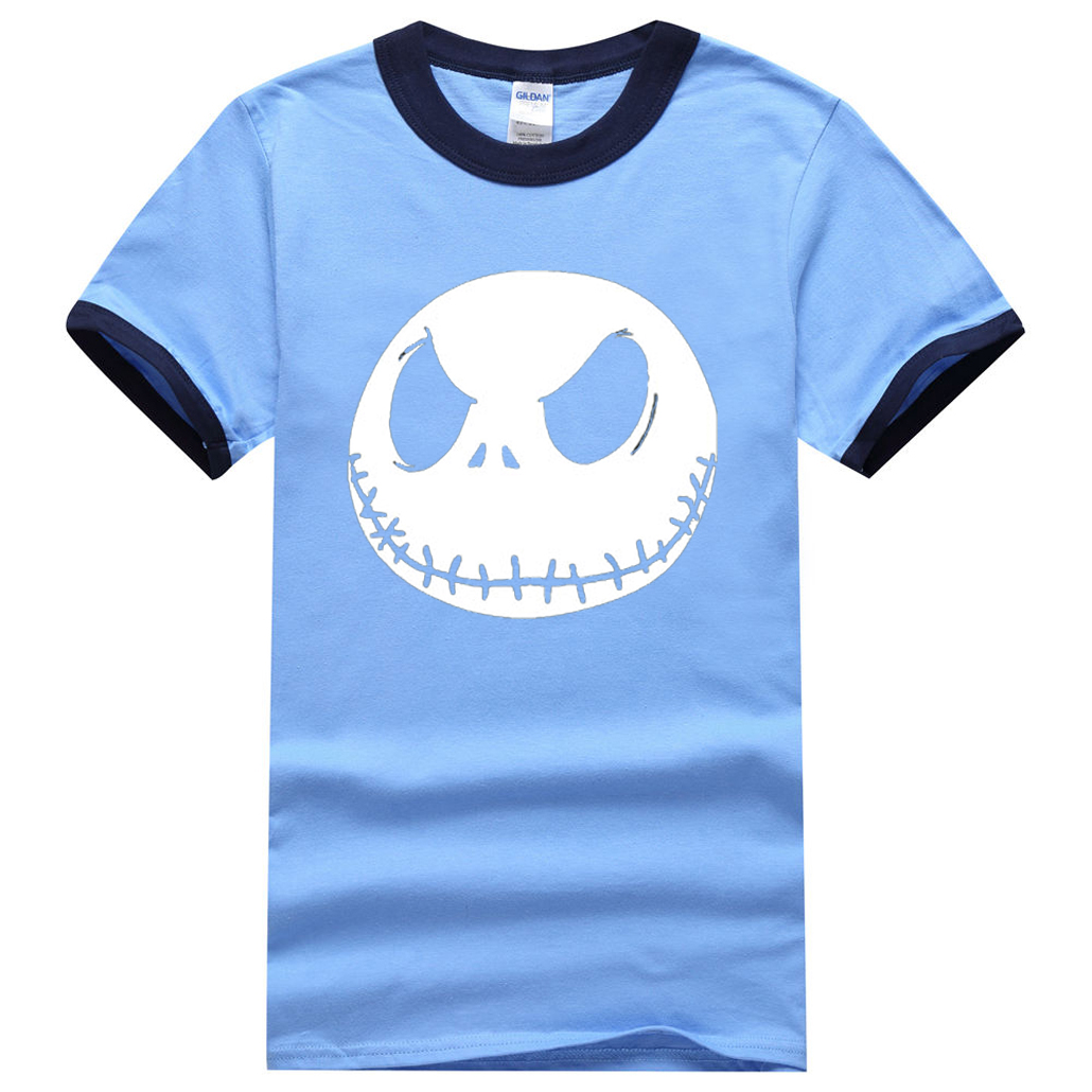 Hot Sale Cartoon Men Tops Nightmare Before Christmas Jack ...