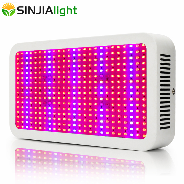400W LED Grow Panel Hydroponics Light Full Spectrum Led Plant Growth Phyto Lamp for flowers greenhouse grow tent vegetables