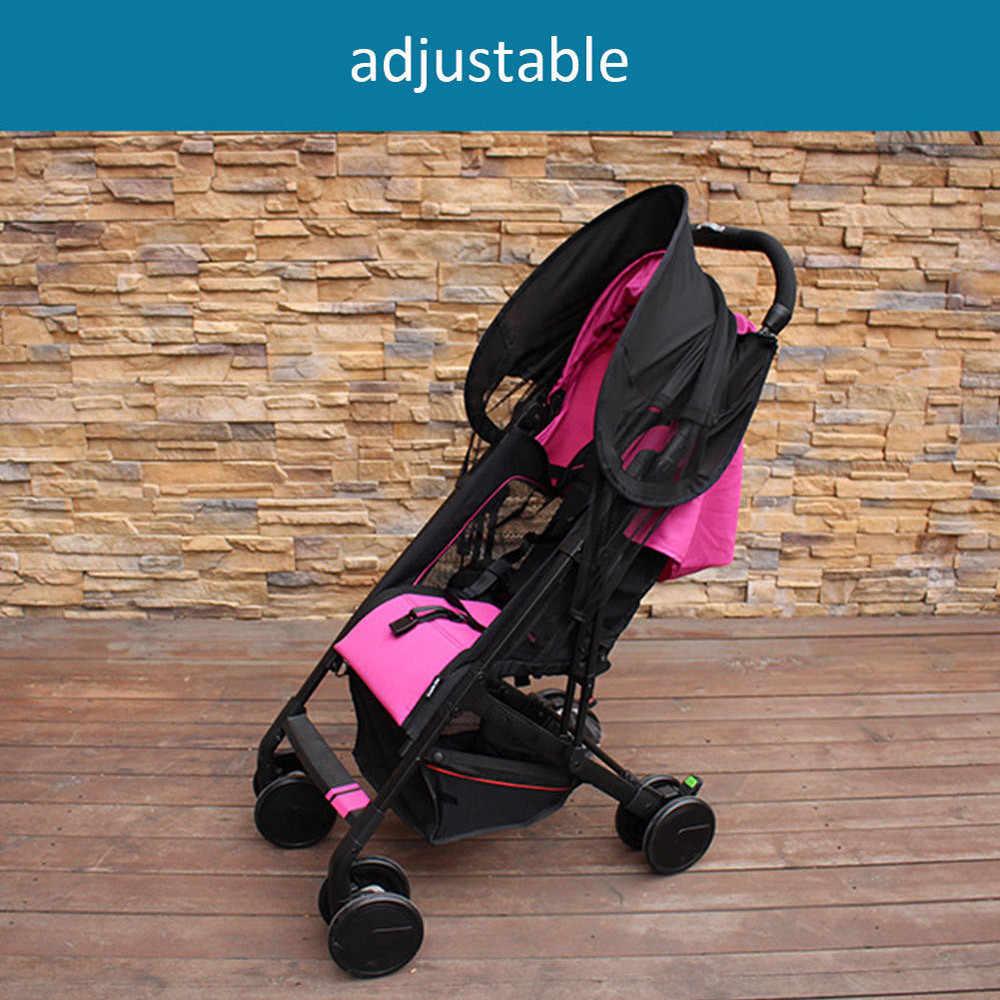 MUQGEW УФ-лучи солнцезащитный навес + москитная сетка для детская двухместная коляска крышка детское сидение с креплением солнцезащитные шторы для машины крышка #5-6