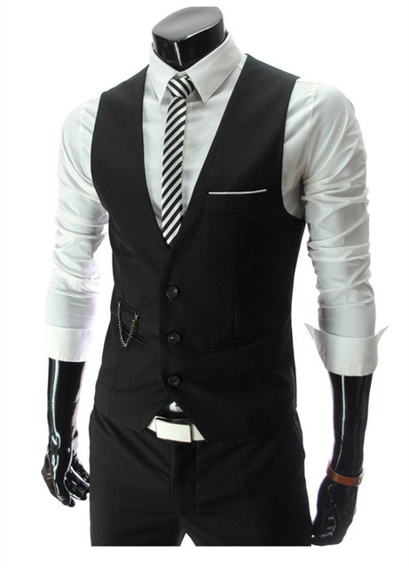 2016 brand men wedding vest trend waistcoat slim fit 4 color fashion gentleman business suit vest  sleeveless jacket