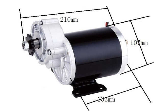 цена на 600w 36 v gear motor ,brush motor electric tricycle , DC gear brushed motor, Electric bicycle motor, MY1020Z
